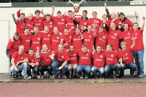 Sensationeller Aufstieg der 1. Mannschaft in die Kreisliga B.